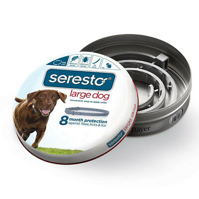 Bayer Seresto Flea and Tick Collar for Dogs 8 Month Protection