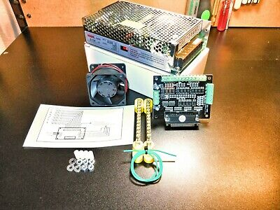 6 Axis Breakout Board DIY Bundle With Cooling Fan & Dual Rail Power Supply