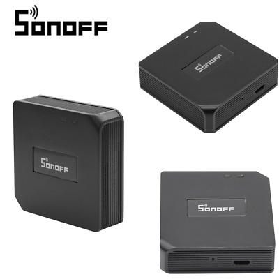 Commutateur universel domotique intelligente WIFI 433MHz pont portatif Sonoff RF