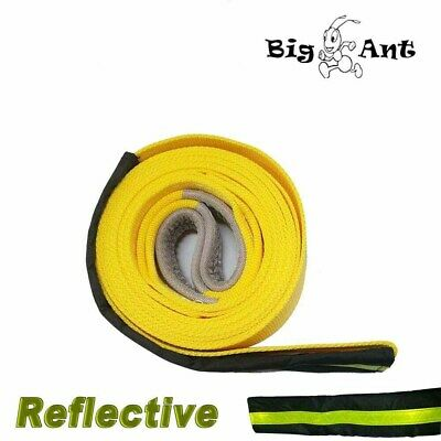 Tow Strap Heavy Duty Recovery Strap Nylon Towing Rope 3x20' 20000 Lbs Reflective