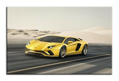 Wall Art Lamborghini Huracan 5 Panel Canvas Framed Canvas Print #155 Picture