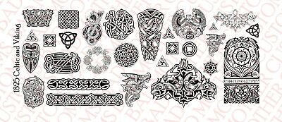 1//18 Scale Tattoos for Action Figure tattoos Sicario and Gang Waterslide Decals