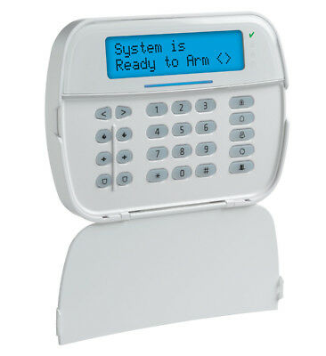 DSC HS2LCDWF9 Wireless Full Message LCD PowerG 2-Way Wire-Free Alarm Keypad