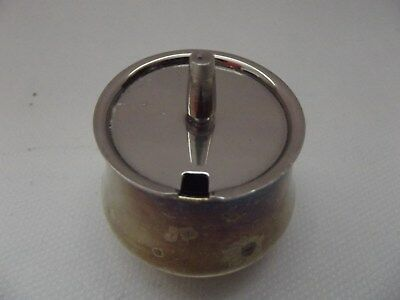Vintage Silver Plated Mustard Pot