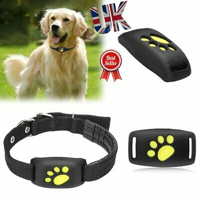 GPS Tracker Pet Collar Real Time Locator Kid For Dog Tracking Device Waterproof