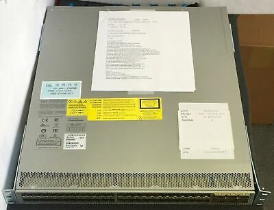 CISCO N9K-C9372PX V03 Nexus9000 Chassis with Test Sheet - $3,500 00