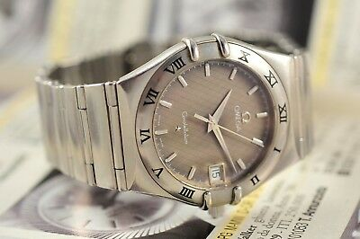 Swiss Omega Constellation 396.1201- Stainless Steel-Sapphire-Very Good Condition