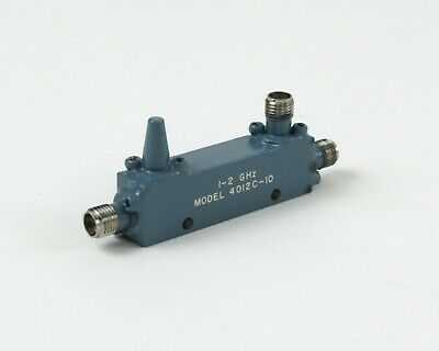 Narda 4012C-10 RF Directional Coupler - 10dB, 1-2 GHz, SMA Female