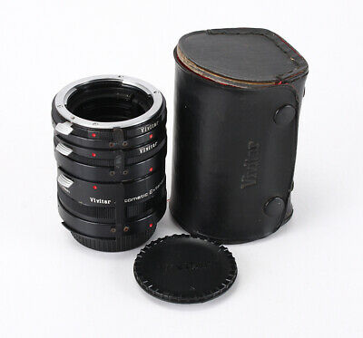 Vivitar Automatic Extension Tube Set At-3 For Nikon Ai (12/28/36)/208251