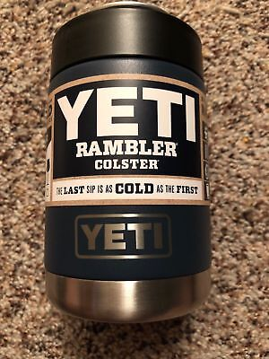 Authentic YETI Rambler COLSTER 12oz *NAVY* NEW!!