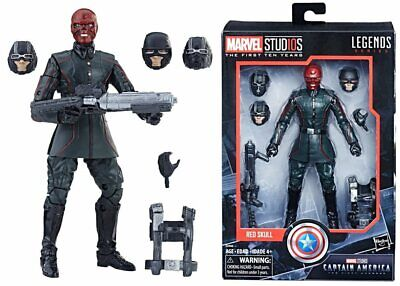 Marvel Studios Legends Series The First Ten Years Red Skull Cpt America Figure