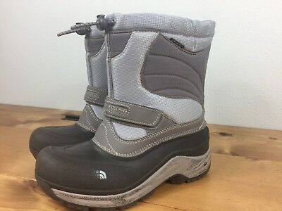 867fcd8b9 THE NORTH FACE Amore Winter Snow Boots Shiny Blue Purple Girls 6 ...