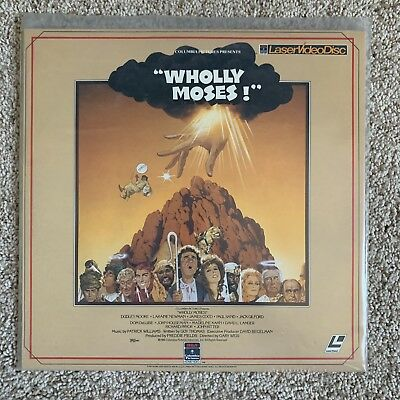 Wholly Moses! Laserdisc - Dudley Moore