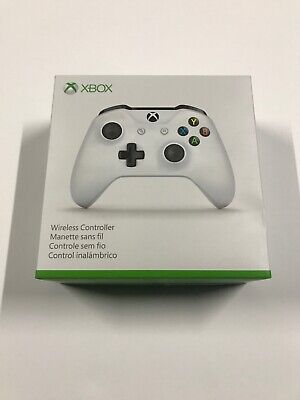 Microsoft Xbox One Wireless Bluetooth Controller - White New No Box