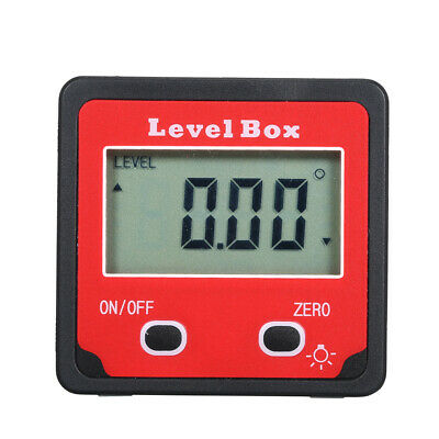 Digital Level Box Angle Gauge Inclinometer Protractor with LCD Backlight A0D9