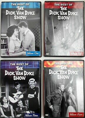 The Dick Van Dyke Show - The Best Of Volume 1,2,3 & 4 (DVD, 2004)
