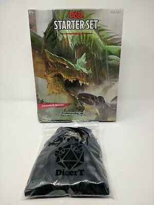 Dungeons Dragons Starter Set 5th Edition - w/ extra 6 sets of dice - damaged box
