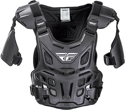 Fly Racing Revel Offroad Mx Youth Roost Guard Schwarz