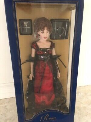 Franklin Mint Doll - Rose The Official Titanic Vinyl Portrait Doll