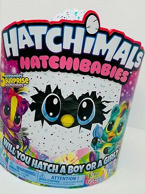 Hatchimals Hatchibabies Boy Or Girl Ponette Or Cheetree Colleggtibles 1 Set