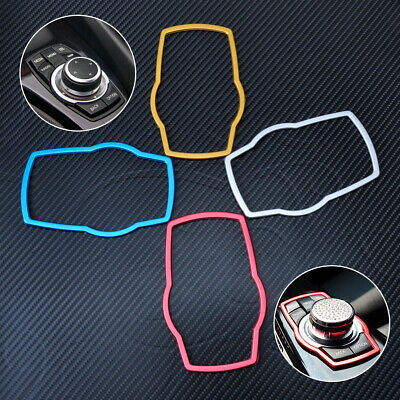 Hot Car Multimedia Buttons Cover Molding Trim For BMW 1 3 4 5 7 Series 2013 2014