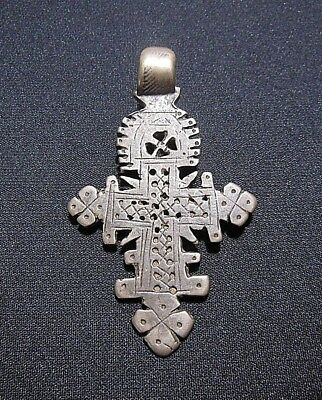 Rare Ancient Byzantine Silver Cross
