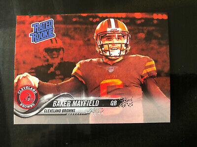 2018 ACEO Rated Rookie Baker Mayfield Cleveland Browns HOT ROOKIE 🔥🏈🏈🔥