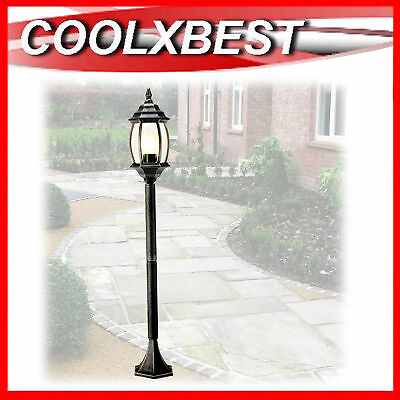 New 1.1M Garden Path Lamp Post Light Driveway Pool Antique Provincial Style