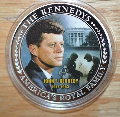 2009 Proof John F Kennedy - Colorized Portrait - America's Royal Family