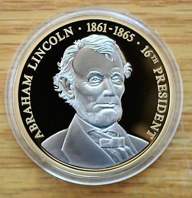 Abraham Lincoln - Our 16th President - Platinum Accented