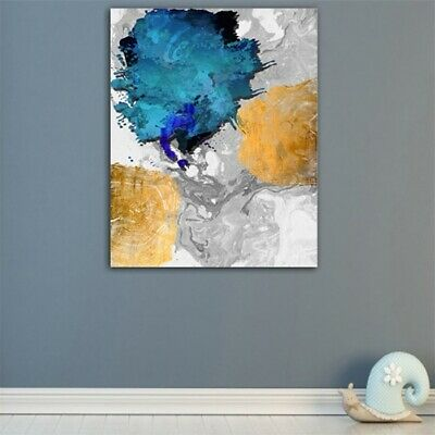 Abstract Oil Painting Canvas Modern Home Room Wall Decor Art Poster Picture HD