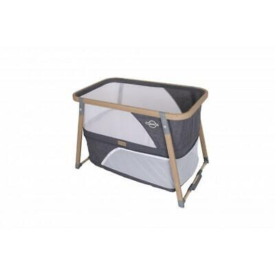 Love N Care Cosmos 3 In 1 Crib - Rocker/Bassinet/Playard (Charcoal) Love Care Fr
