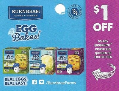 save on Eggbakes Quiches Egg Patties + Bonus [Canada]