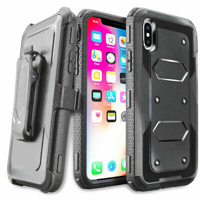 New 360° Shockproof Full Protective Clip Case Cover For Apple iPhone XR X XS Max