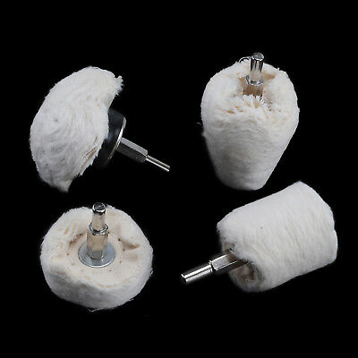4Pcs Polishing Buffing Pad Mop Wheel Drill Kit for Manifold Aluminum Stainless