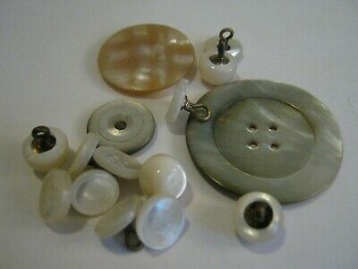Nice Lot Antique & Vintage Mother Of Pearl Buttons