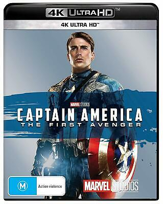 CAPTAIN AMERICA 1 2011: The First Avenger MARVEL NEW Au RgB 4K Ultra HDR BLU-RAY