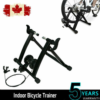 Magnetic Bike Bicycle Trainer Stand Indoor Exercise Fitness 7 Level Resistance