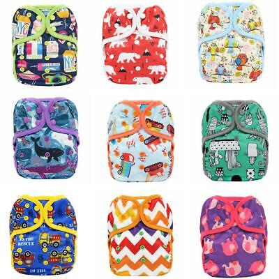 Baby Infant Cloth Diaper Cute Reusable Washable Adjustabl Nappy Cover Breathable