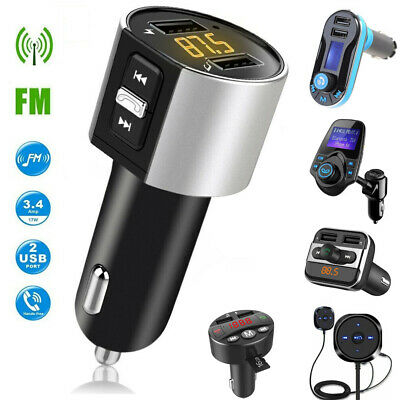 Hands Free Bluetooth FM Transmitter Auto MP3 Player USB Stick KFZ Micro SD AUX