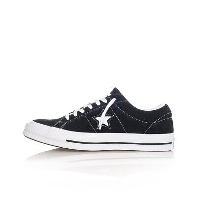 Shoes Man Converse One Star Ox Og Suede 158369C Sneakers Man Tribes Black