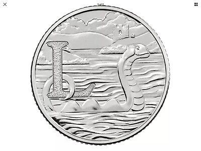 """2018 NEW Uncirculated 10p Coin """"Loch Ness"""" By The Royal Mint L Ten Pence"""