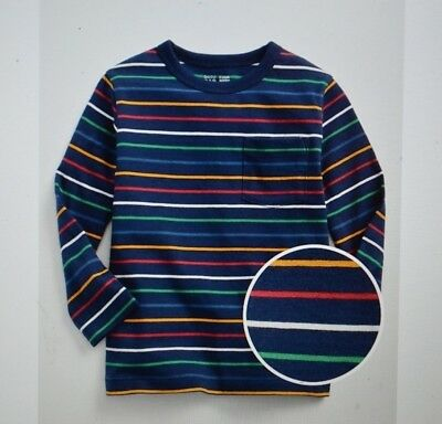 NWT Toddler Boys size 2T Stripe long sleeve t-shirt by Baby Gap