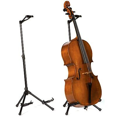 Ornate Carved Wooden Cello Stand 4//4
