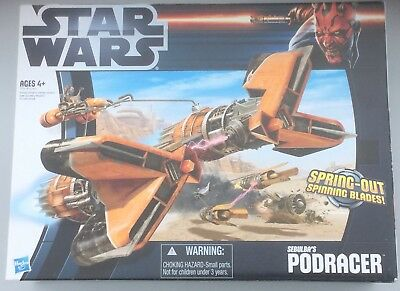 "Star Wars Podracer for 3.75"" Sebulba action figure PHANTOM MENACE - EPISODE 1"