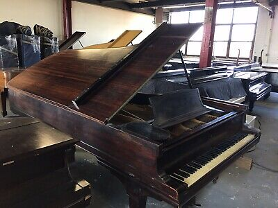 Rare Rosewood Steinway Concert Grand Model D Piano