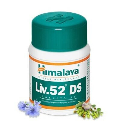 Himalaya Herbal Liv.52 DS 60 Tablets Ayurveda Ayurvedic Herbal Product