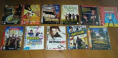 11 CULT COMEDY DVD Bundle Irreverent Stand Up Action Indie Satire Dark Humour