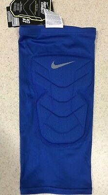 dc1bf79969 Nike Hyperstrong Compression Padded Basketball Shin Knee Sleeve Blue 2XL  629884