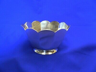 Tiffany & Co Sterling Silver Scallop Footed Dish #25049
